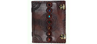 Leather Embossed Journals