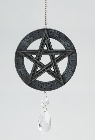 Hanging Pentagram Dreamcatcher