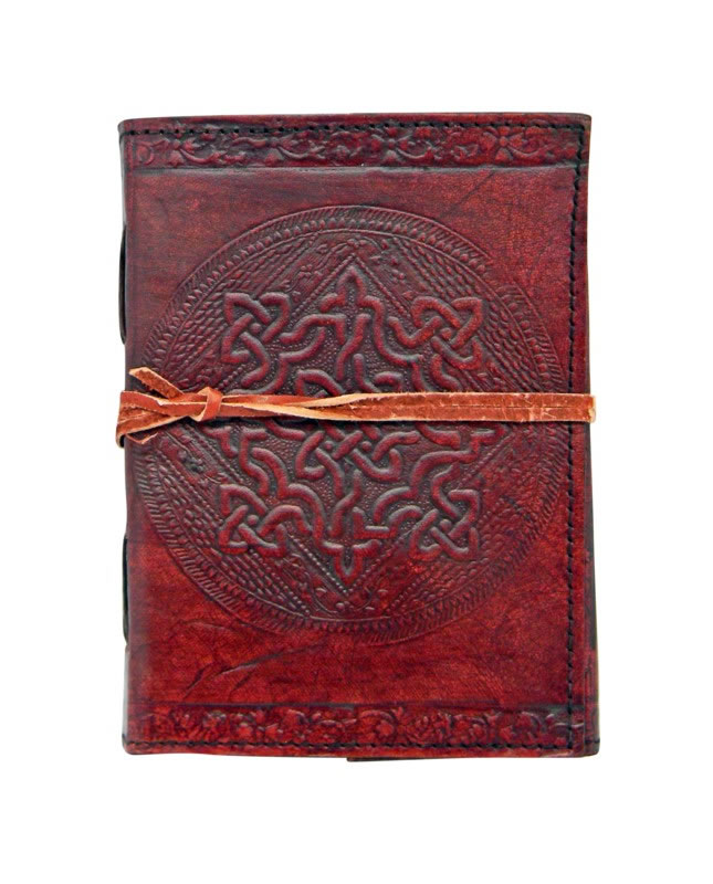 Celtic Knot Embossed Journal