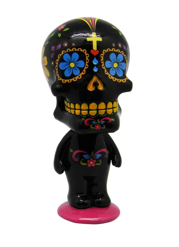 Black Day of the Dead Bobblehead