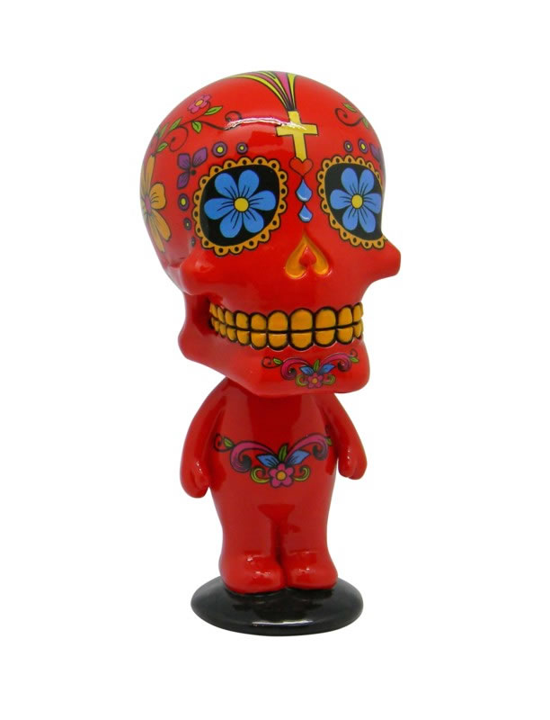 Red Day of the Dead Bobblehead