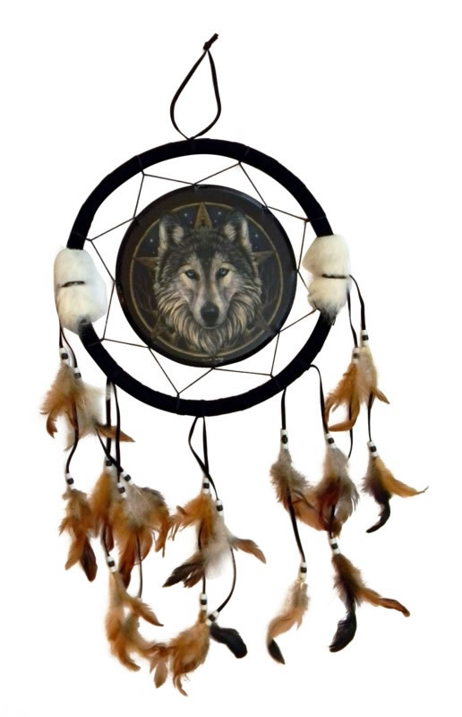 Lisa Parker's Wolf Dreamcatcher
