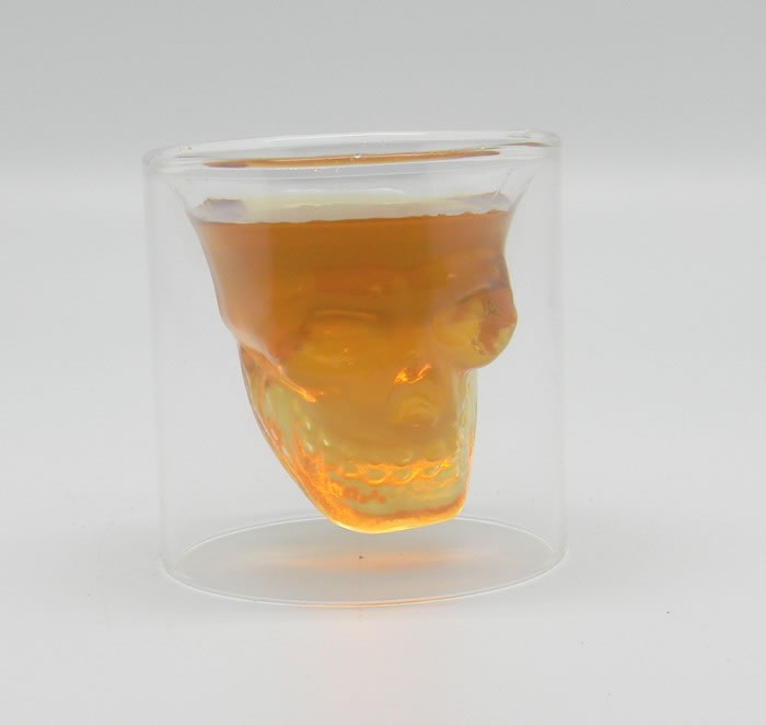 Doomed Double Walled Shot Glass