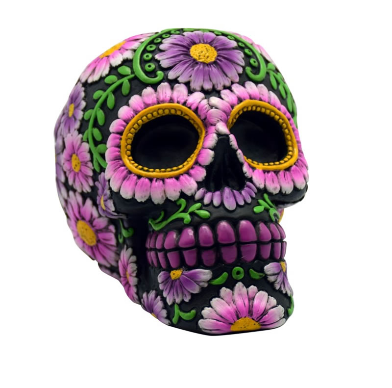 Black/Pink Sugar Skull Bank