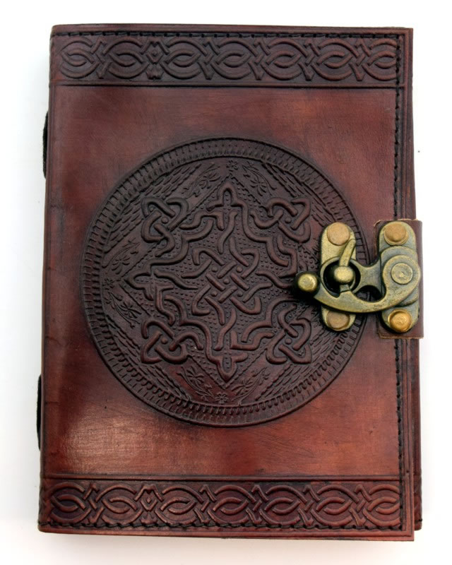 Celtic Knot Leather Embossed Journal