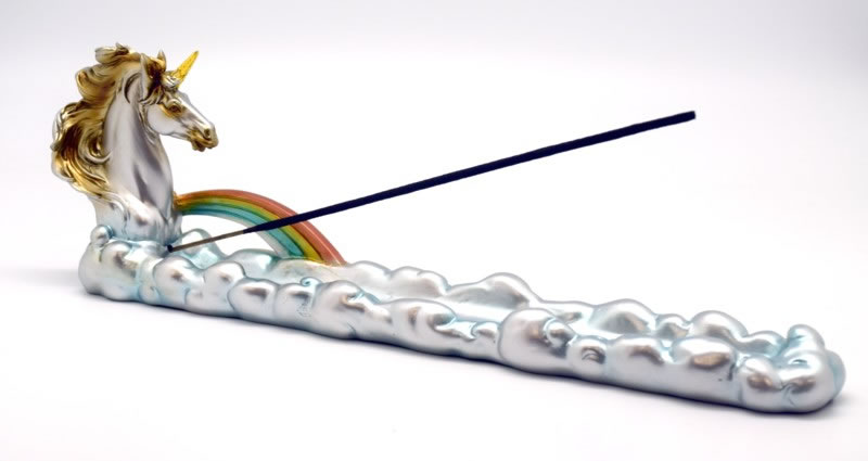Unicorn Boat Incense Burner
