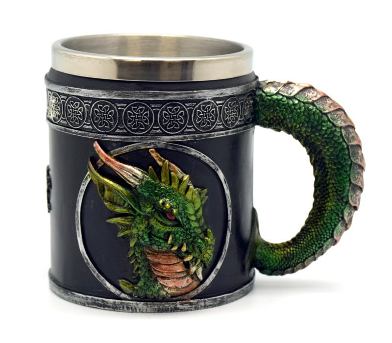 Green Dragon Tankard