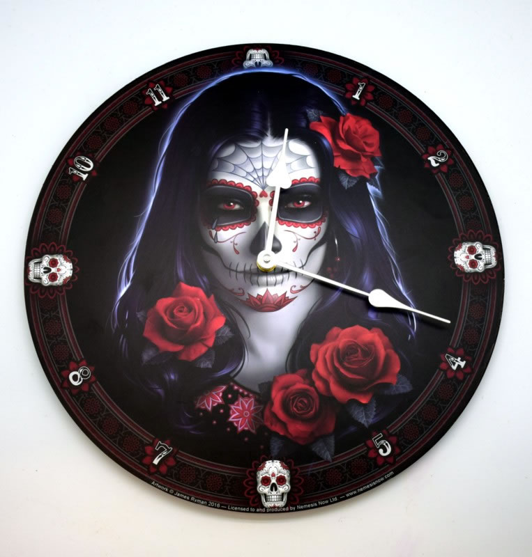 JAMES RYMAN'S DAY OF THE DEAD CLOCK