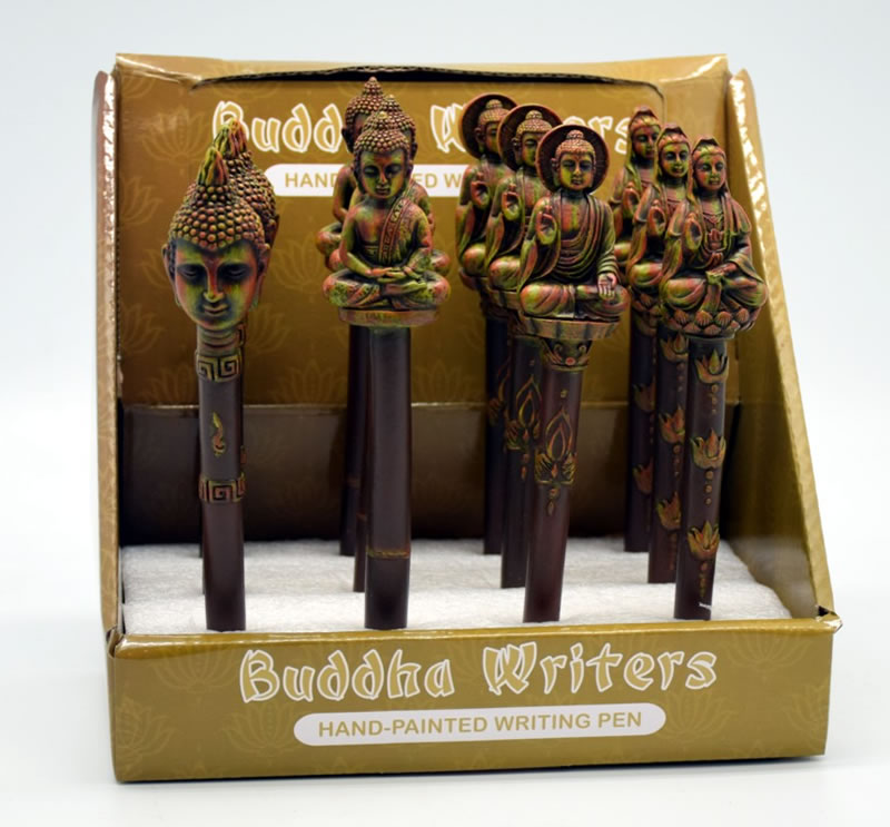 Set of 12 Buddha Pens