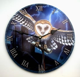 Lisa Parker's Flying Owl Clock