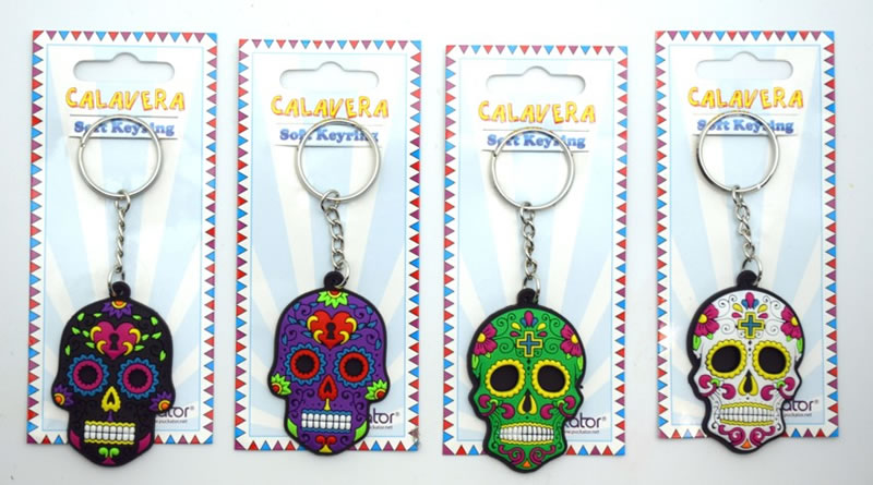 Day of the Dead Key Chains
