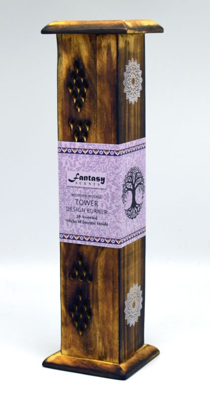 Fantasy Scents Wooden Incense Tower