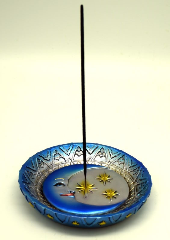 Sun and Stars Incense Burner